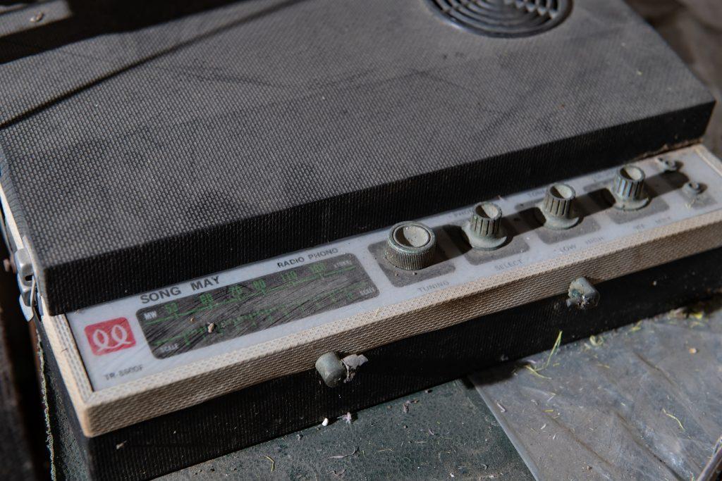 2019-02-06 台南老家老物 阿公的收音機