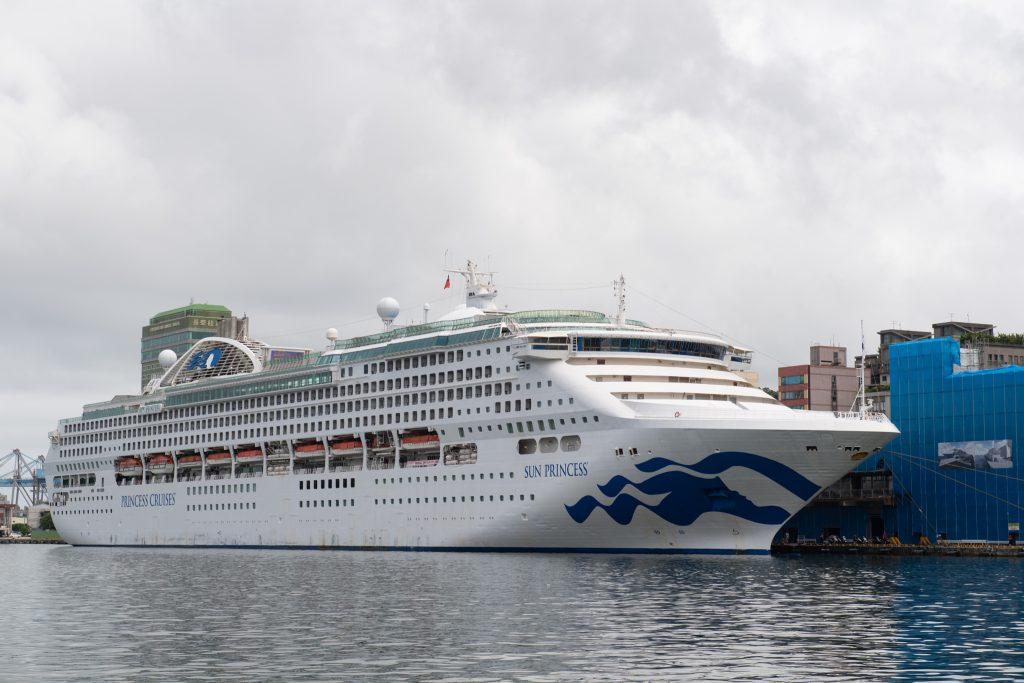 2019-09-04 太陽公主號五日遊 基隆港