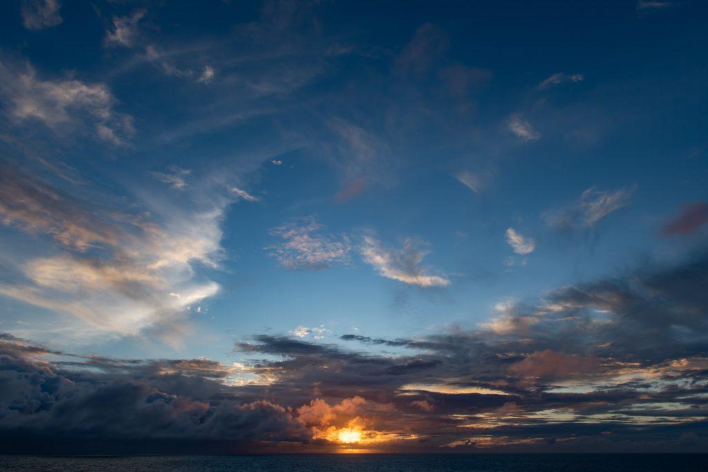 2019-09-04 太陽公主號五日遊 第一天的夕陽